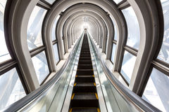 Escalators successful concept Royalty Free Stock Photography