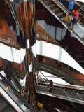 Escalators, Upmarket Shopping Mall Stock Image
