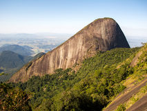 Escalavrado mountain seen from Dedo de deus mountain in Rio de Janeiro Royalty Free Stock Photos