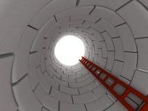Escale à parte superior Imagem de Stock Royalty Free