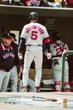 Escale de Nomar Garciaparra les Red Sox de Boston Photographie stock libre de droits