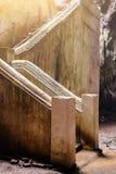 Escalera abajo a la cueva de Khao Luang Fotografía de archivo libre de regalías