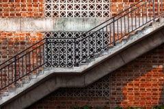 Escalera al aire libre Imagen de archivo