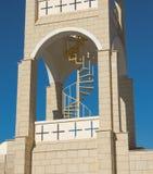 Escalera al campanario Imagen de archivo