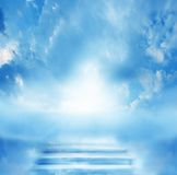 Escalera al cielo foto de archivo libre de regalías