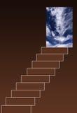 Escalera al cielo Fotos de archivo