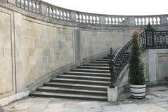Escalera al palacio fotos de archivo