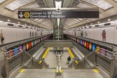 Escalera al tren de Q Imagen de archivo libre de regalías
