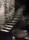 Escalera antigua Imagenes de archivo