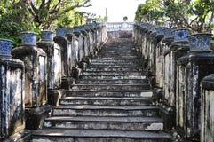 Escalera antigua Imagen de archivo libre de regalías