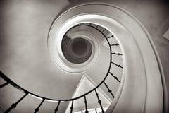 Escalera circular Fotografía de archivo libre de regalías