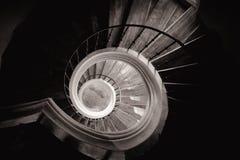 Escalera circular Imagen de archivo