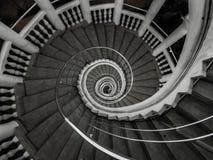 Escalera circular stock de ilustración