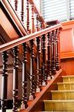 Escalera clásica Imágenes de archivo libres de regalías