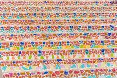 Escalera colorida Foto de archivo libre de regalías