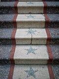 Escalera con las estrellas Fotografía de archivo