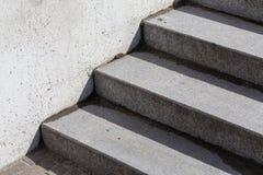 Escalera concreta Imagen de archivo
