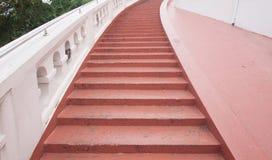 Escalera concreta Fotografía de archivo libre de regalías
