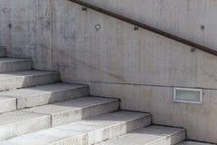 Escalera concreta Foto de archivo