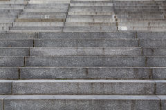 Escalera concreta Fotografía de archivo