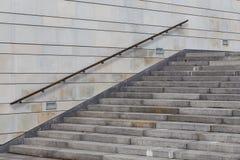 Escalera concreta Imagenes de archivo