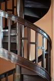 Escalera curvada fotografía de archivo libre de regalías