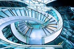 Escalera de arriba Foto de archivo
