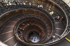 Escalera de Bramante Fotografía de archivo libre de regalías