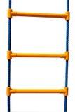 Escalera de cuerda plástica para los niños Imagen de archivo libre de regalías