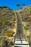 Escalera de doblez Fotografía de archivo libre de regalías