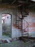 Escalera de enrollamiento Imagen de archivo libre de regalías