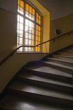 Escalera de enrollamiento Imágenes de archivo libres de regalías