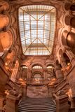 Escalera de Great Western en capitolio del Estado de Nueva York foto de archivo