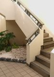 Escalera de la albañilería Foto de archivo libre de regalías