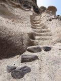 Escalera de la arena Foto de archivo