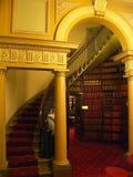 Escalera de la biblioteca Imágenes de archivo libres de regalías