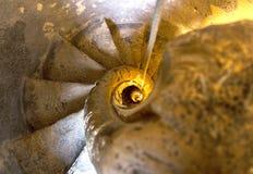 Escalera de la campana de iglesia en Noto, Sicilia, Italia foto de archivo libre de regalías
