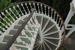Escalera de la casa templada en el jardín de Kew, Londres Imagen de archivo