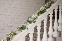Escalera de la decoración Foto de archivo libre de regalías
