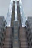 Escalera de la escalera móvil Imagen de archivo libre de regalías