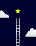Escalera de la estrella Imagen de archivo
