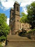 Escalera de la iglesia Foto de archivo libre de regalías