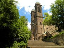 Escalera de la iglesia Imagen de archivo libre de regalías