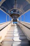 Escalera de la línea aérea Fotografía de archivo