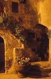 Escalera de la noche Fotos de archivo