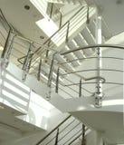 Escalera de la oficina Imagen de archivo libre de regalías