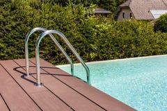Escalera de la piscina Foto de archivo