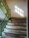 Escalera de la propiedad horizontal Foto de archivo