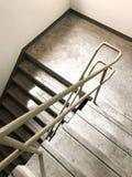 Escalera de la salida de incendios Foto de archivo libre de regalías