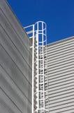 Escalera de la seguridad Fotografía de archivo